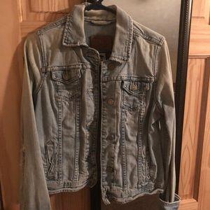 Abercrombie Jean jacket - M